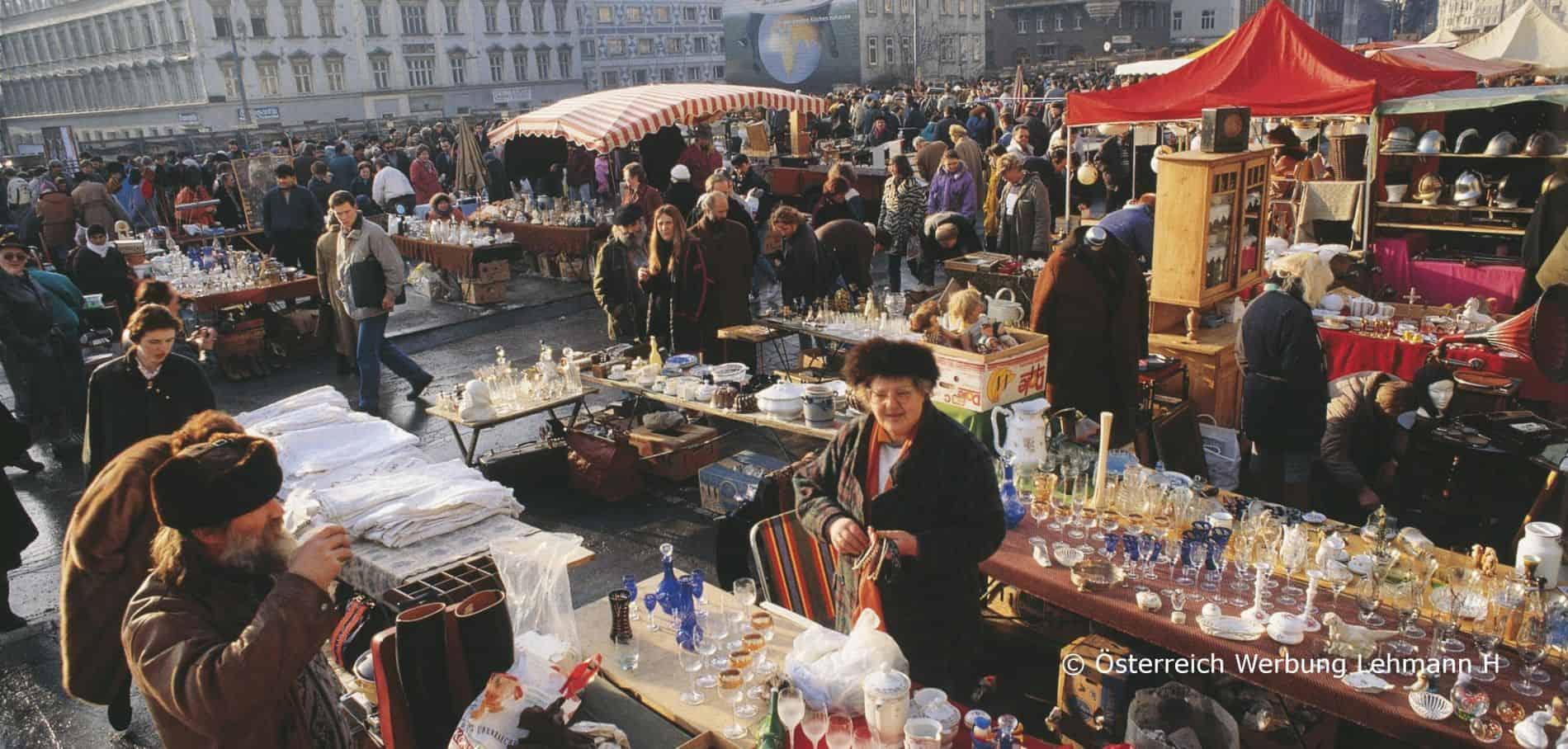 Naschmarkt - Best Places to Visit in Vienna