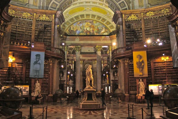 Austrian National Library - Best Places to Visit in Vienna