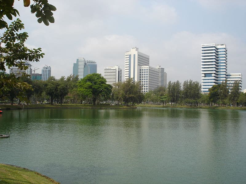 Lumpini Park - Bangkok with Kids