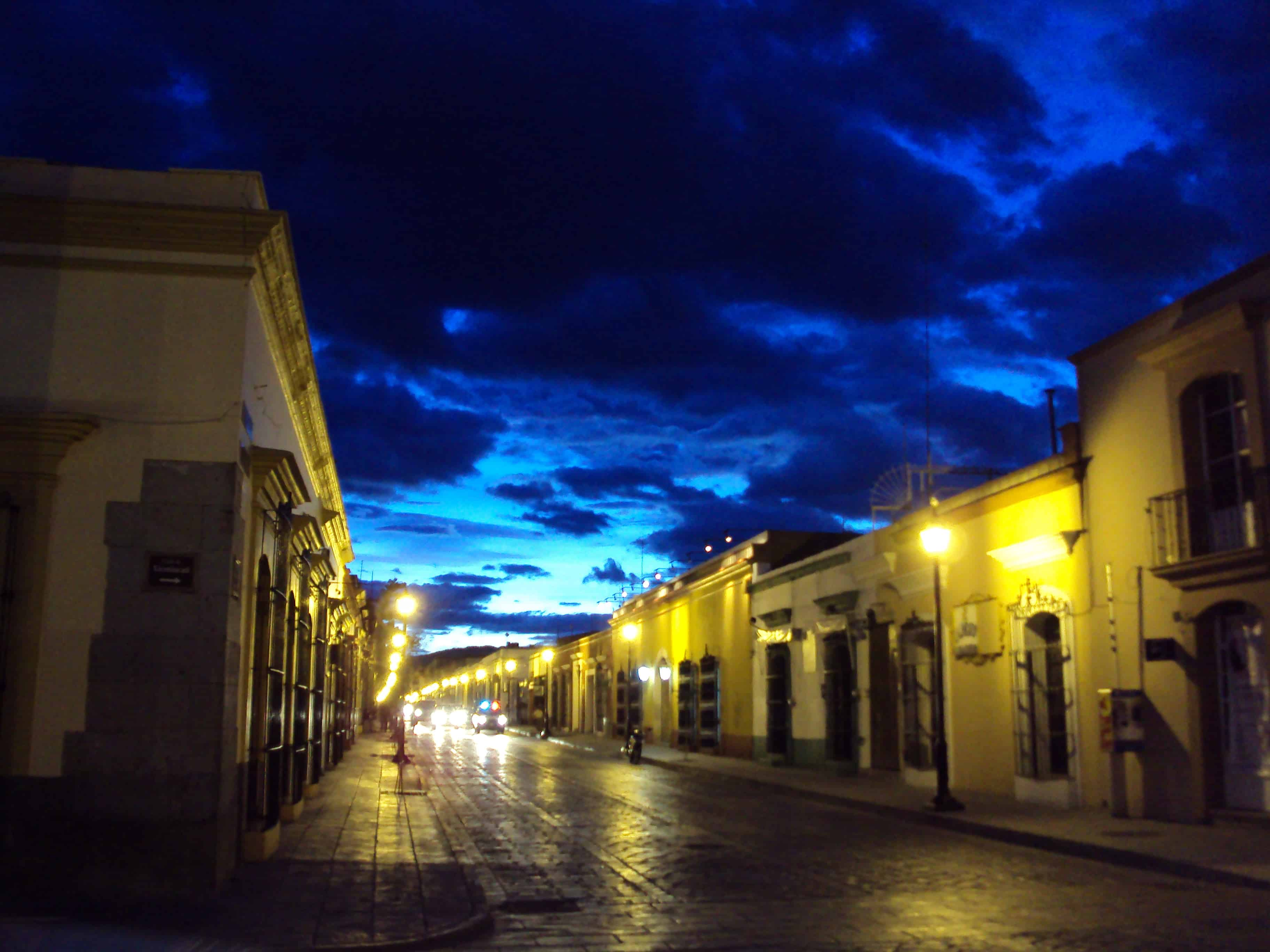 Oaxaca buildings - Off the Beaten Path in Mexico