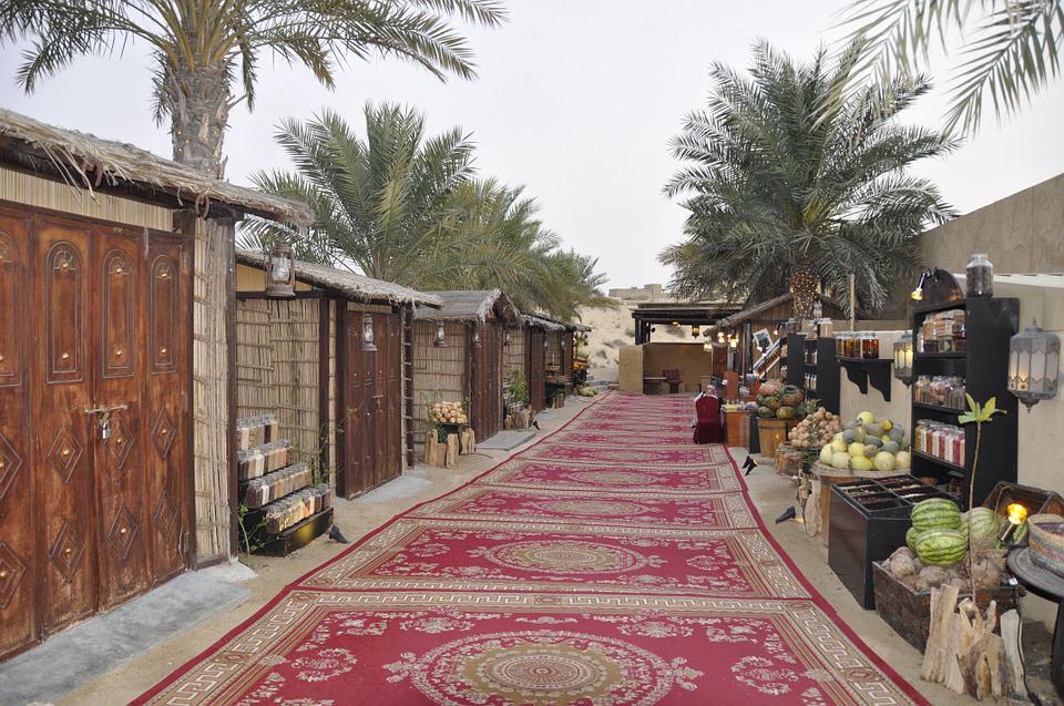Dubai local market
