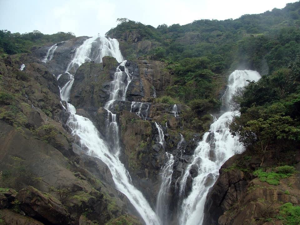 Dudhsagar Waterfall, India - Top Waterfalls in the World