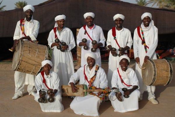 Pigeon Du Sable Gnawa Music Troupe, Merzouga, Morocco
