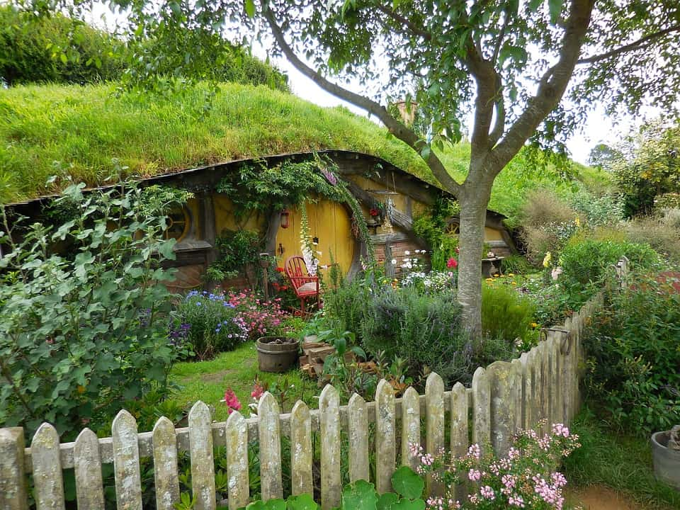 Hobbit house - New Zealand is my Middle Earth