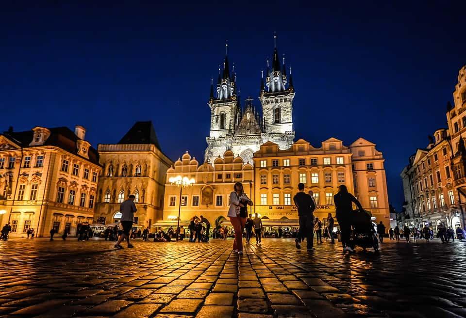 Tyn Church's towers - Things to Do in Prague