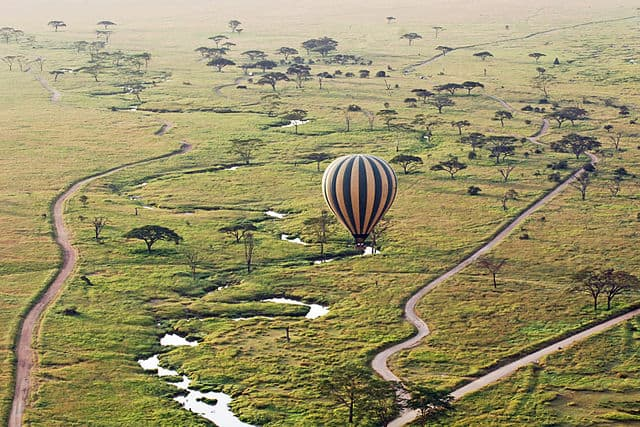 Serengeti Hot Air Balloon - Tanzania: A Trip to Mount Kilimanjaro