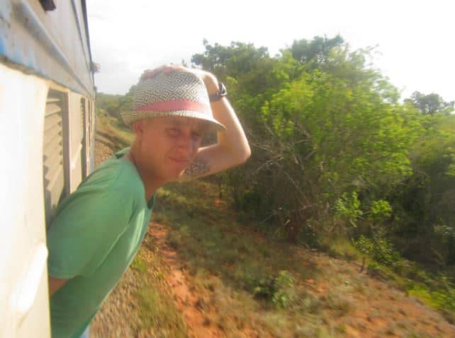 Train from Zambia to Tanzania