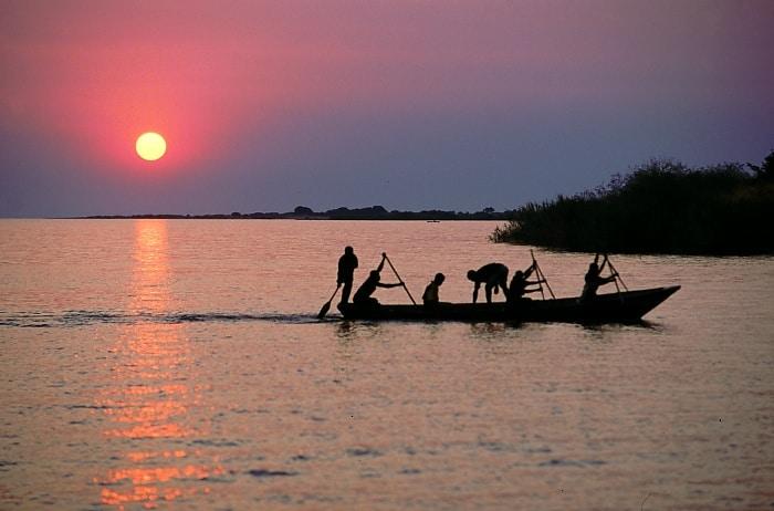 Lake Tanganyika - Zambia