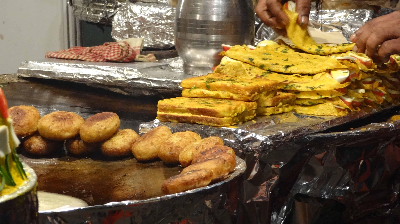 Food Stalls, Old Delhi - New Delhi, India