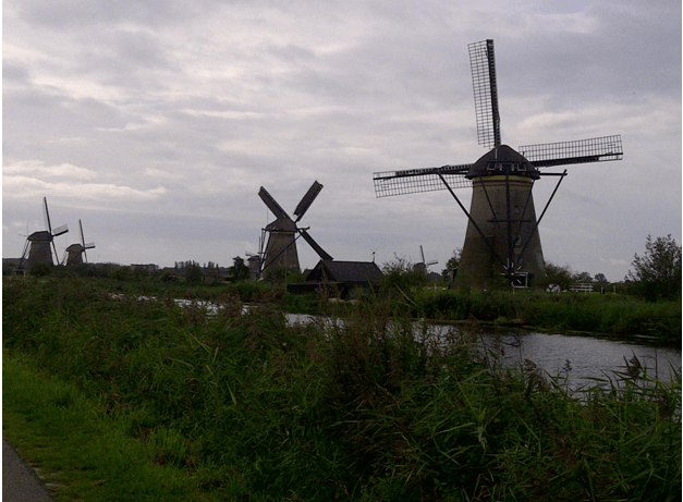 Kinderdijk - Netherlands with Kids