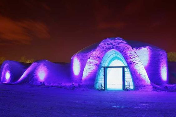 Snow Village – Montreal Canada - Best Ice Hotels in The World