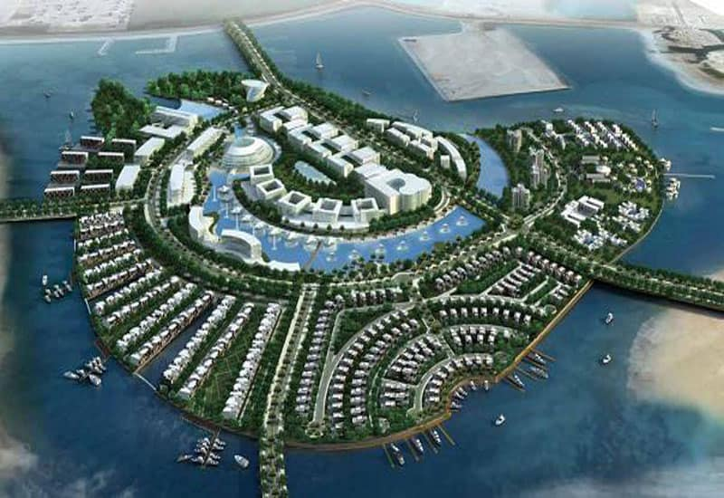 Amwaj Artificial Islands, Bahrain - Man-Made Islands