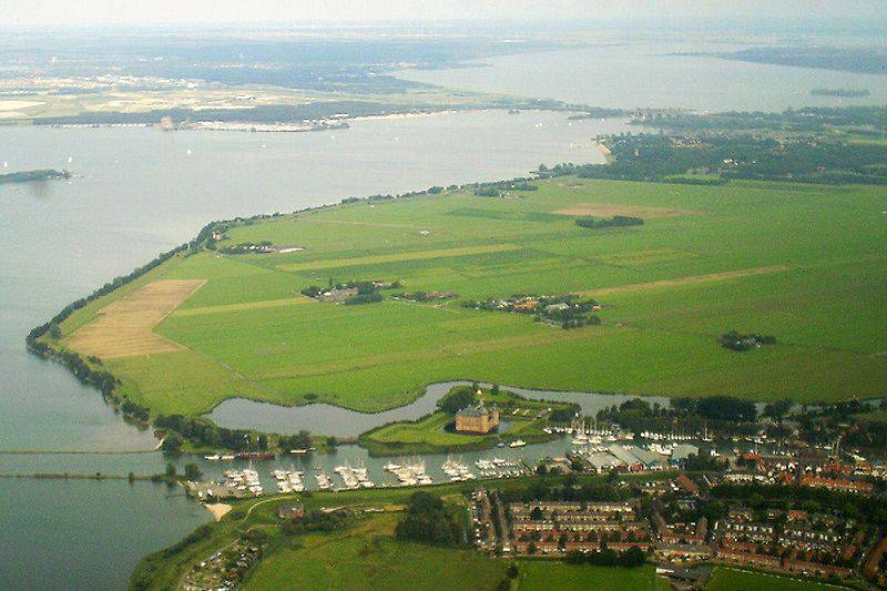 Flevopolder, Flevoland, Netherlands - Man-Made Islands
