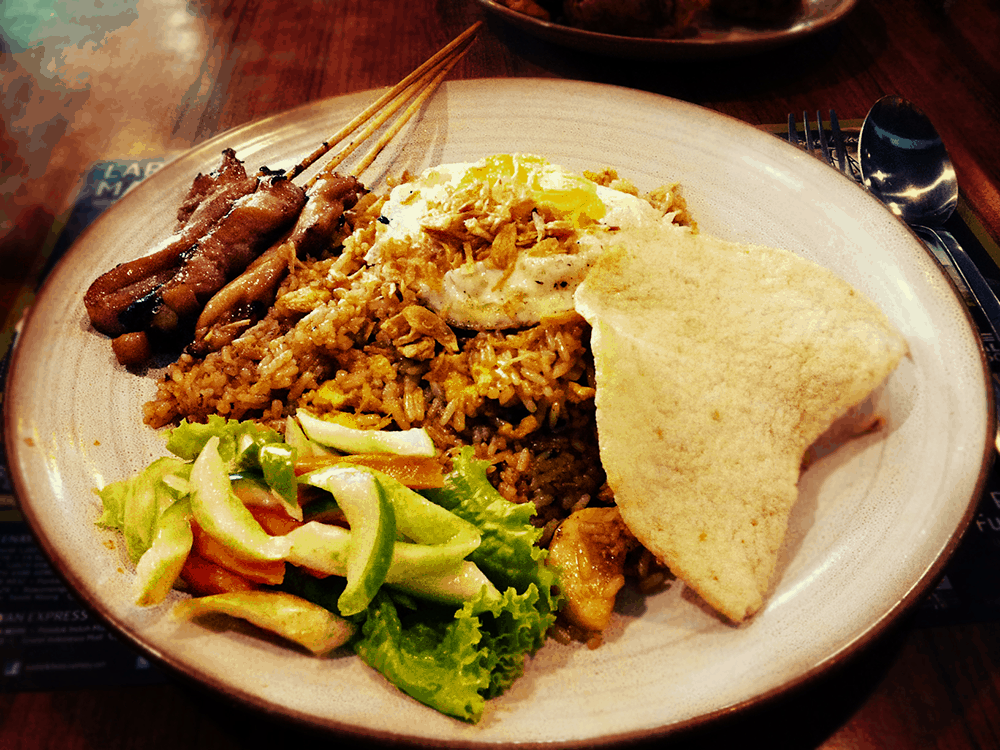 Indonesia's National Dish  - Best Things to Do in Indonesia