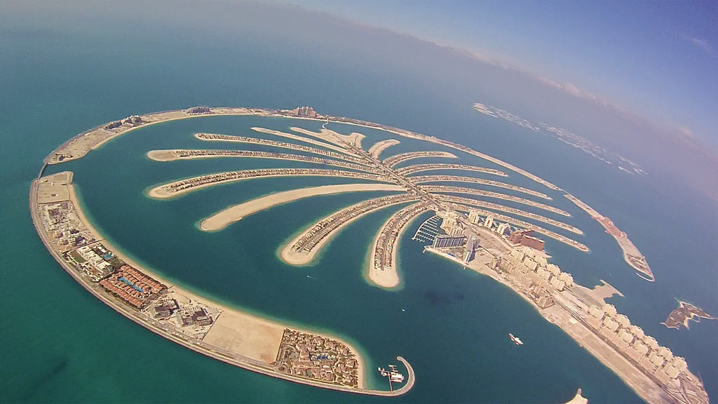 Palm Jumeriah, Dubai, United Arab Emirates - Man-Made Islands