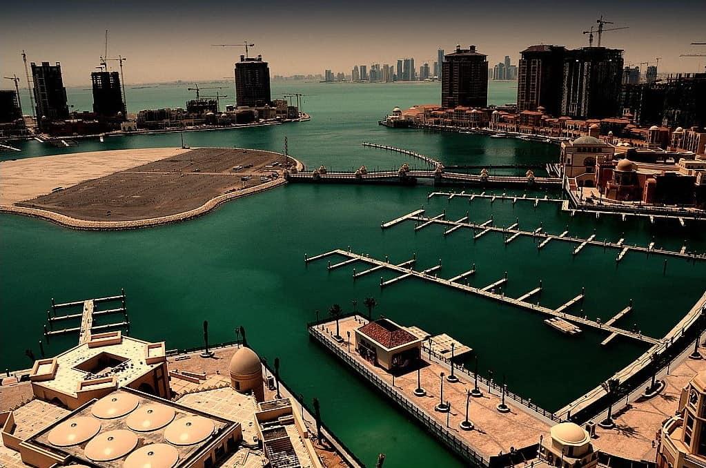 The Pearl-Qatar, Qatar - Man-Made Islands