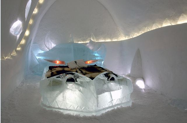 Ice Hotel, Sweden  - Bucket List Travel Ideas
