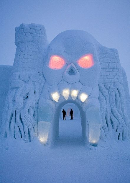 SnowCastle of Kemi - Kemi, Finland