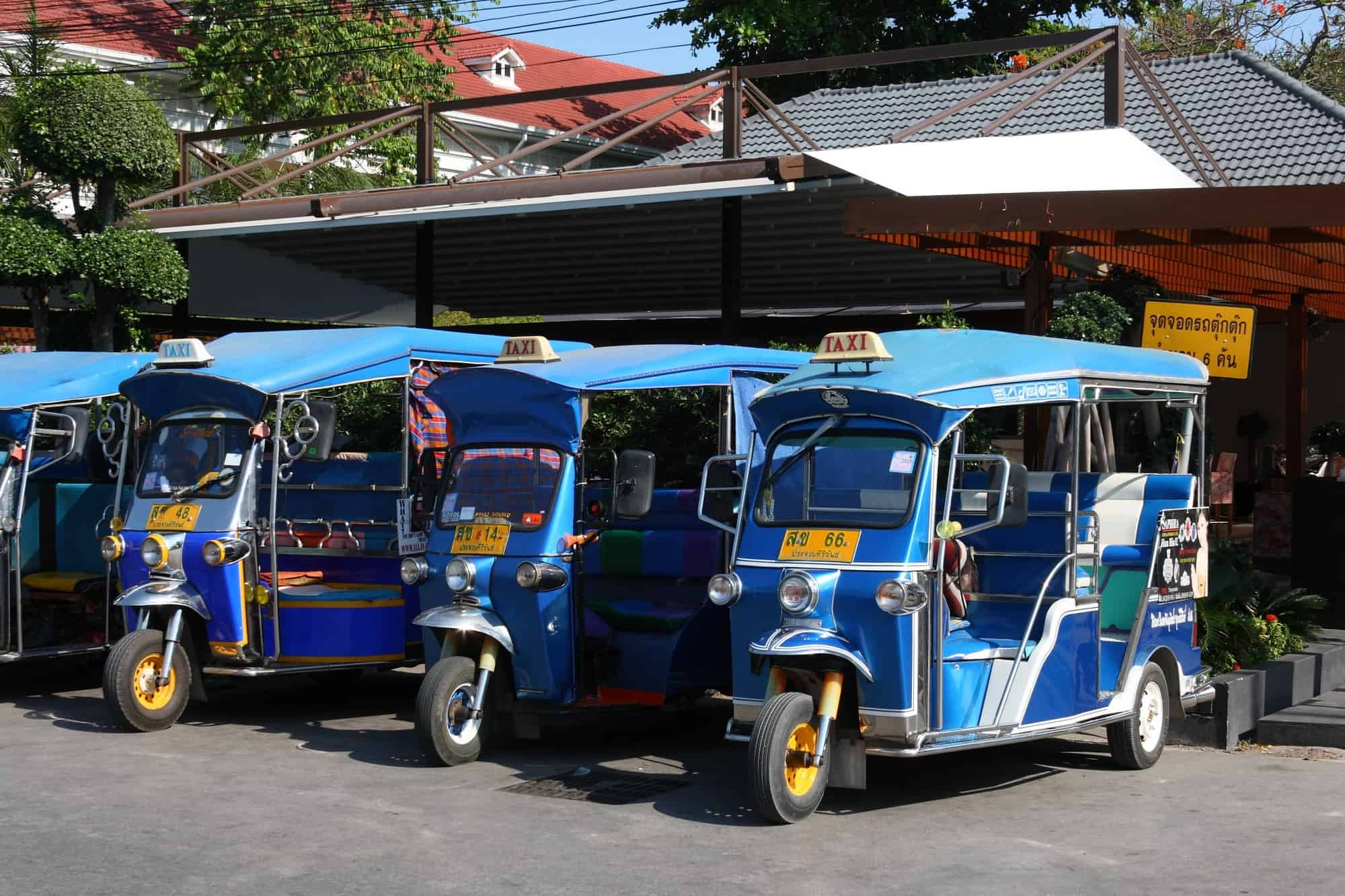 Tuk-Tuk - Best Things to Do in Indonesia