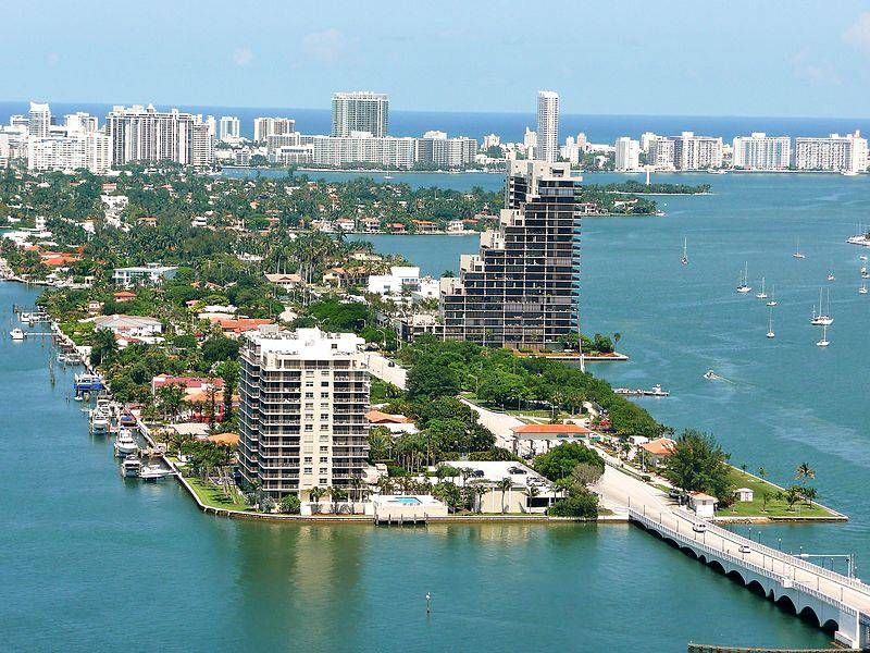 Venetian Islands, Florida, USA - Man-Made Islands