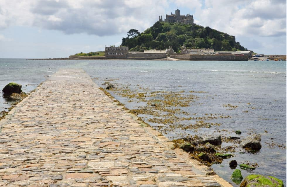 St Michael's Mount, U.K.  - Bucket List Travel Ideas