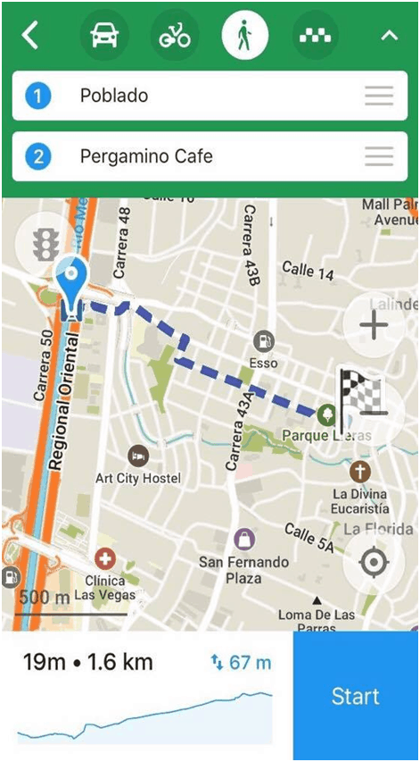 Maps.me App - Top Travel Hacks You Should Really Know