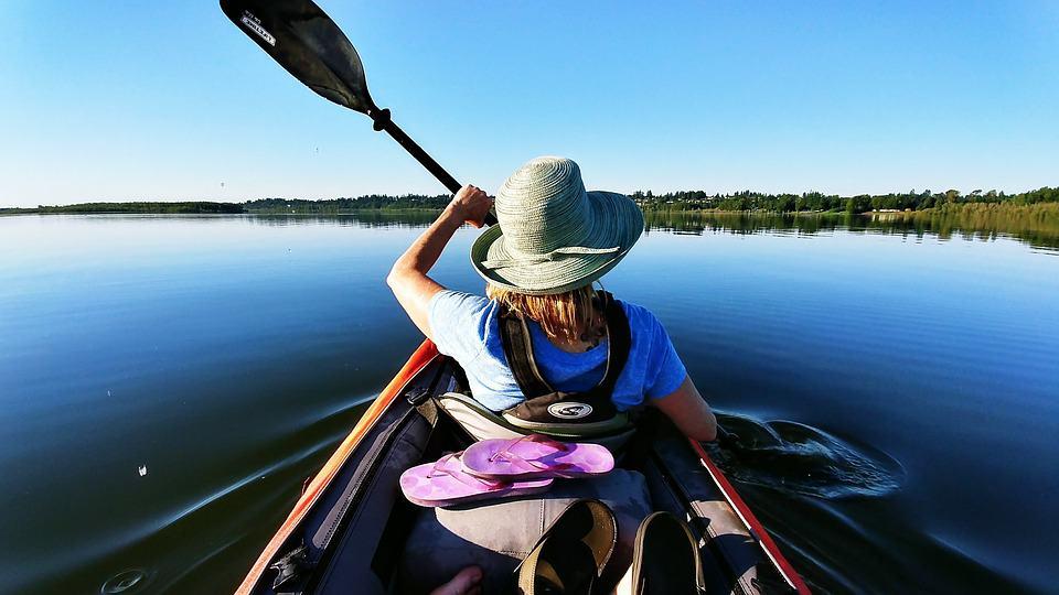 Women's Kayaking - Inhaca Island, Mozambique