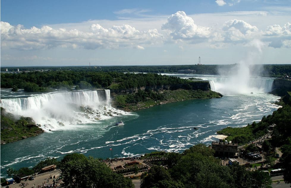Niagara Falls, U.S./Canada Border  - Bucket List Travel Ideas