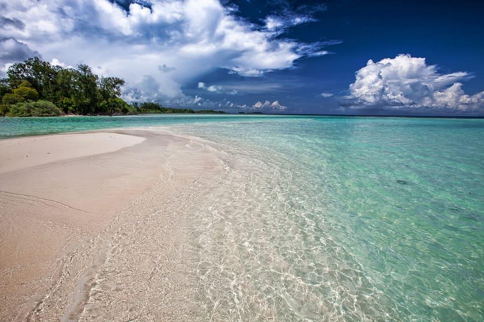 Deserted Beach - Inhaca Island, Mozambique