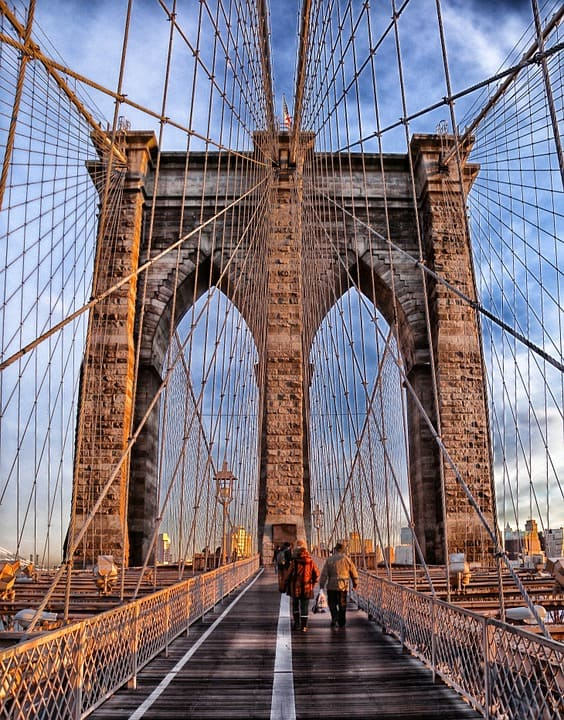 Brooklyn Bridge - Amazing Places to Visit in New York