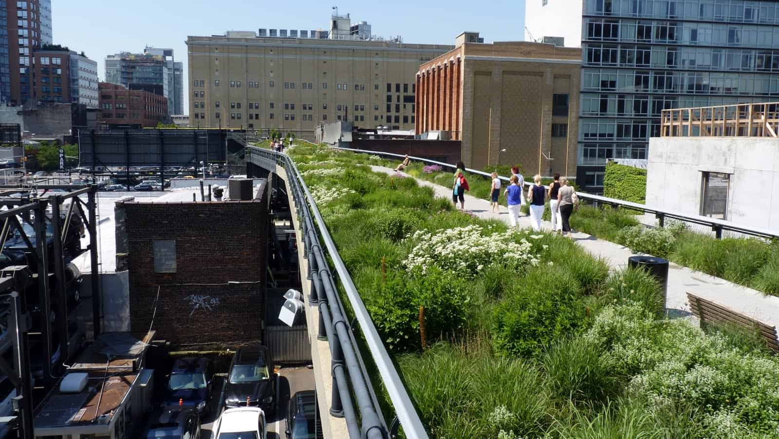 The High Line Park - Amazing Places to Visit in New York