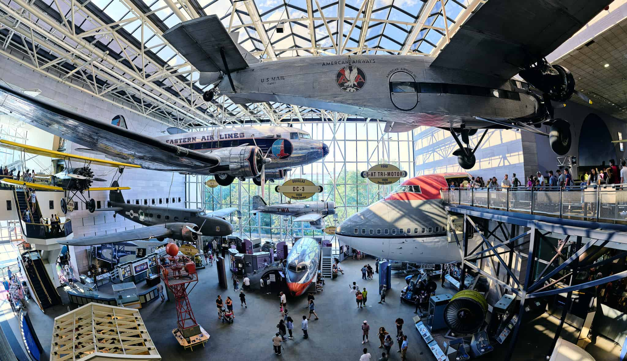 National Air and Space Museum - Best Family Vacations Spots in the USA