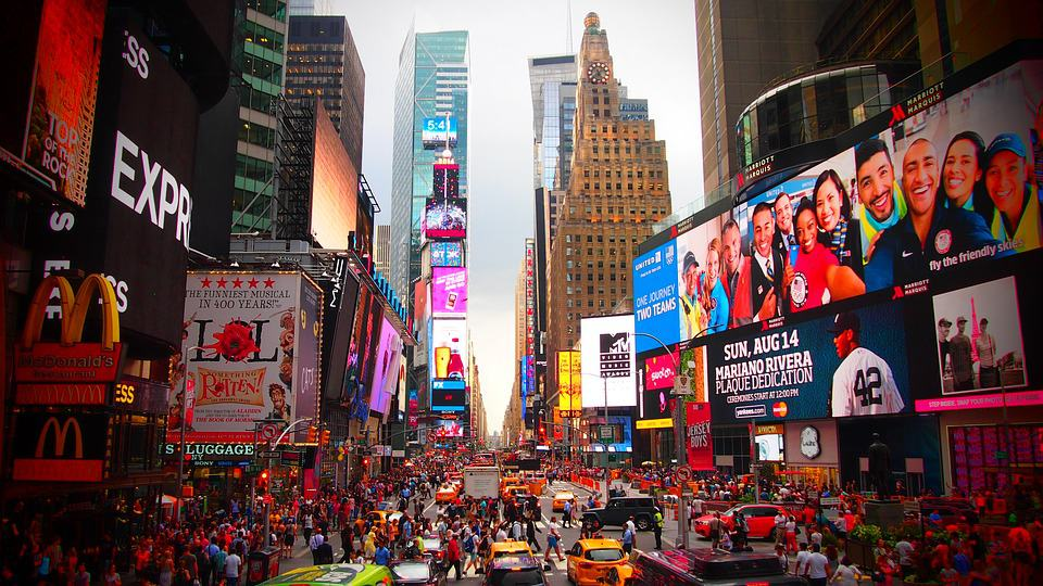 Times Square - Amazing Places to Visit in New York