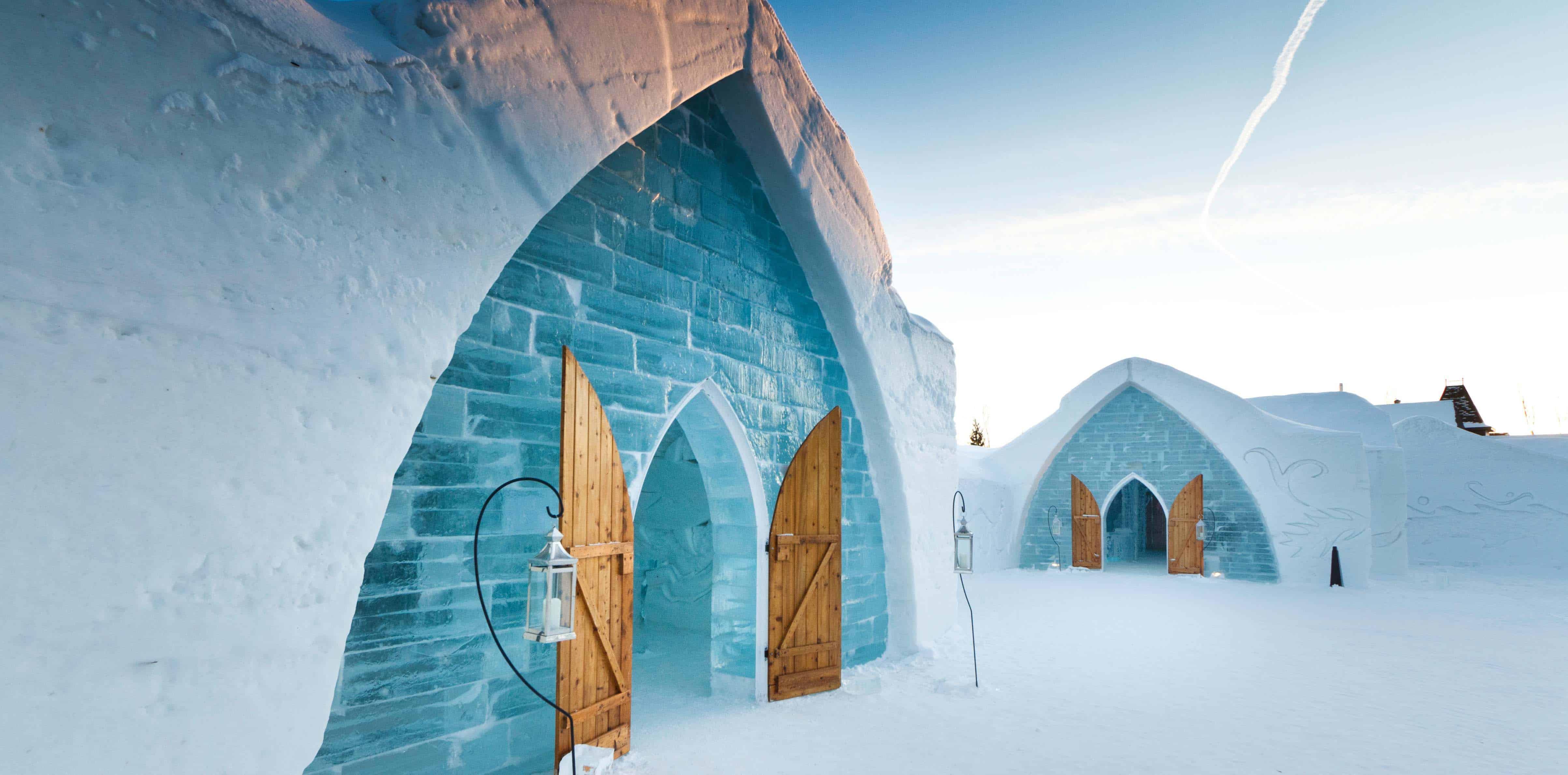 Ice Hotel Quebec, Canada