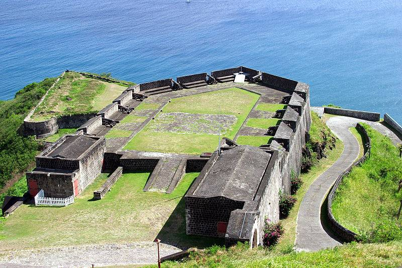 Brimstone Hill Fortress National Park, St Kitts - Caribbean Islands for Family Vacations