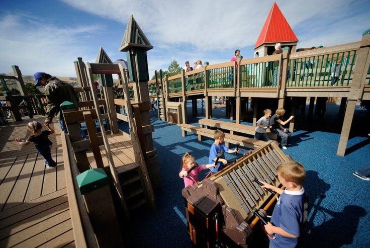Brooklyn's Playground: Pocatello, Idaho