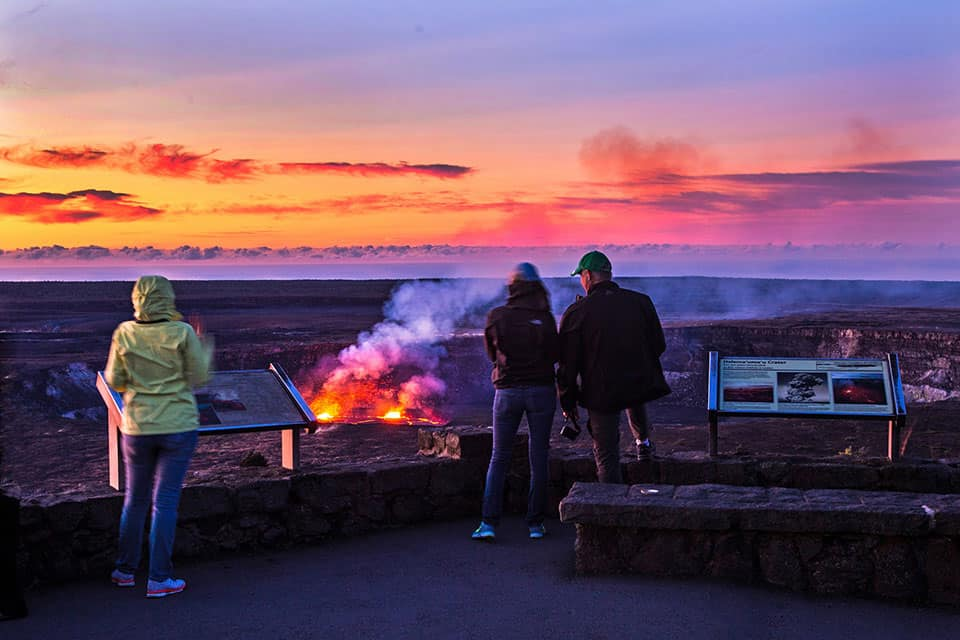 Hawai'i Volcanoes National Park - Best Family Vacations Spots in the USA