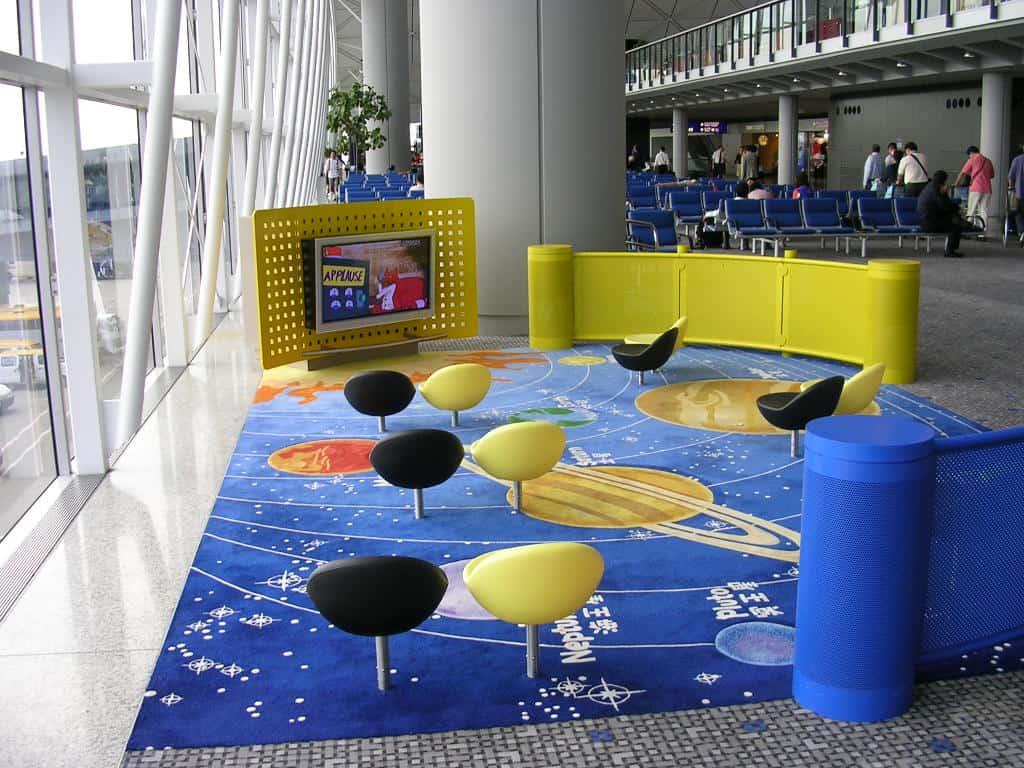 Hong Kong Airport: Children's Lounges
