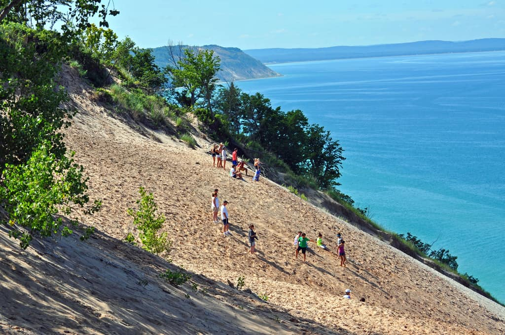 Sleeping Bear Dunes - Best Family Vacations Spots in the USA