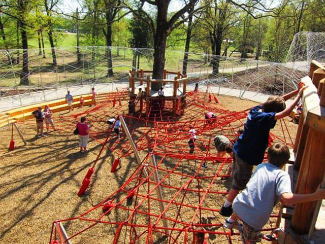 Woodland Discovery Playground: Memphis, Tennessee
