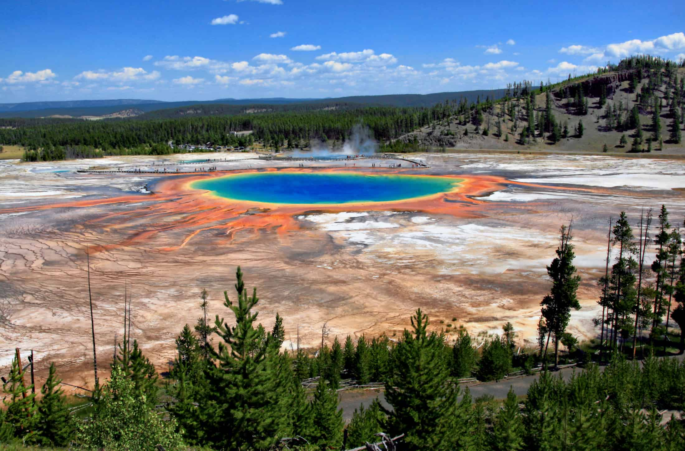 Yellowstone National Park - Best Family Vacations Spots in the USA