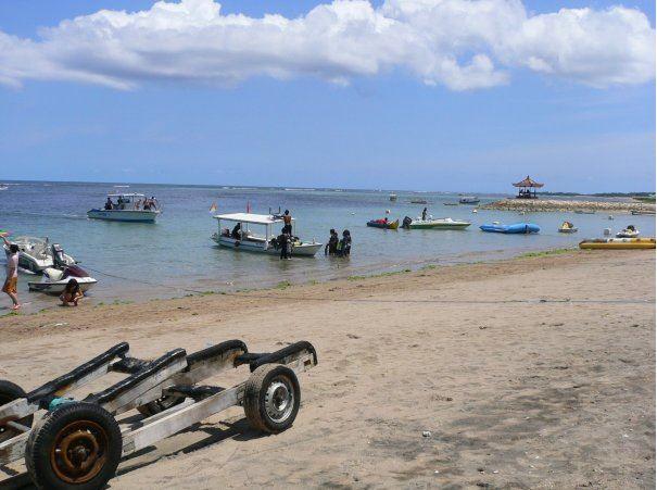 Candidasa beach - Top Family Beaches in Bali