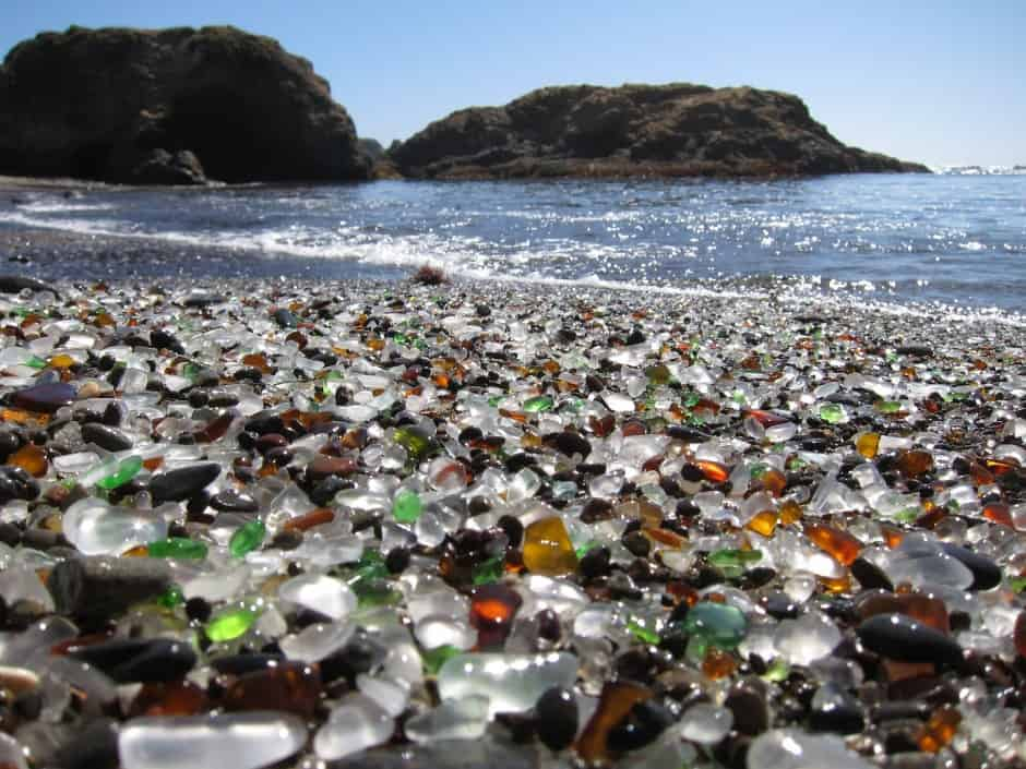 Glass Beach - Most Unique Beaches Around the World