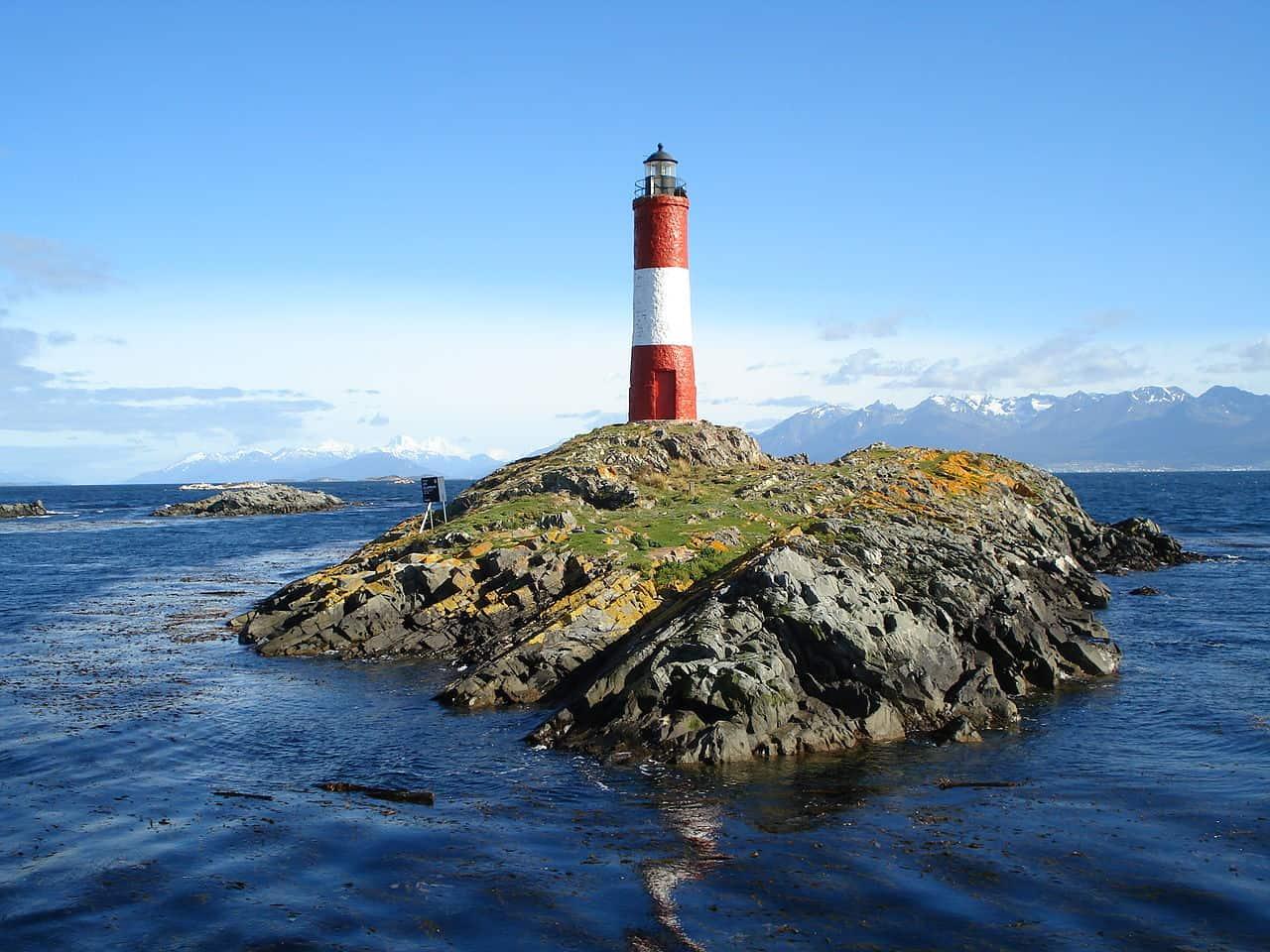 Les Eclaireurs Lighthouse, Tierra del Fuego, Argentina