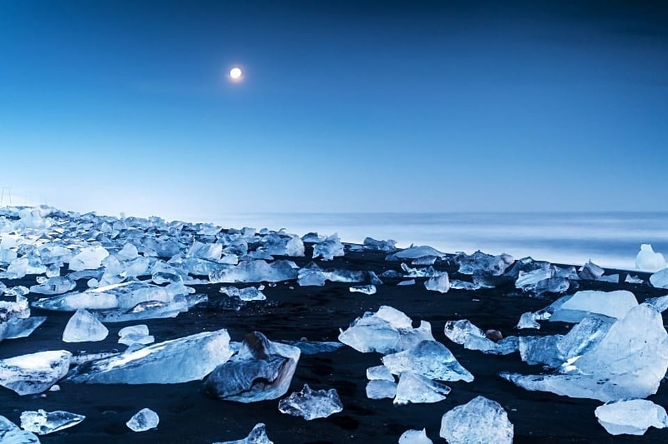 Jokulsarlon Beach - Most Unique Beaches Around the World