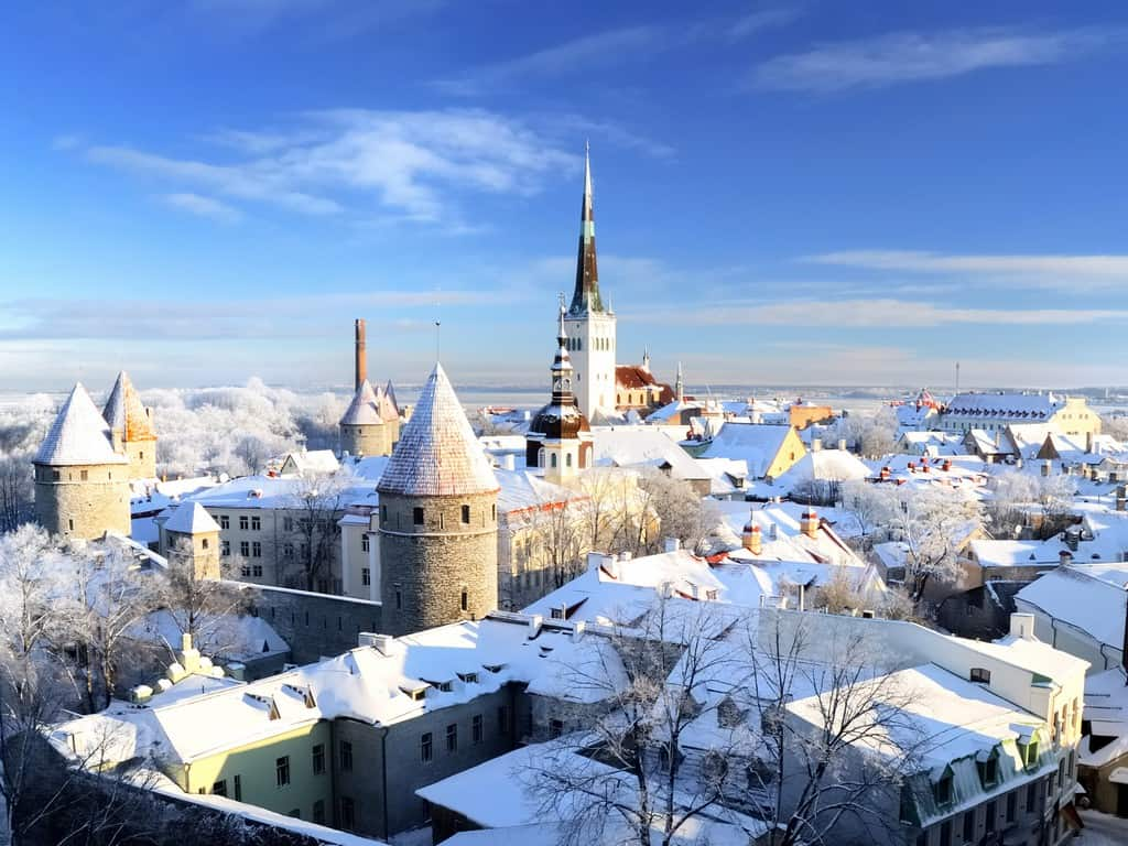 Tallinn, Estonia - Unique Places to Celebrate the Winter Holidays