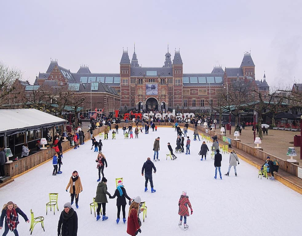 Amsterdam - Best European Cities to Visit in Winter