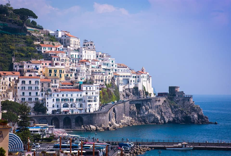 Amalfi Coast, Italy - Best European Countries To Travel With Kids
