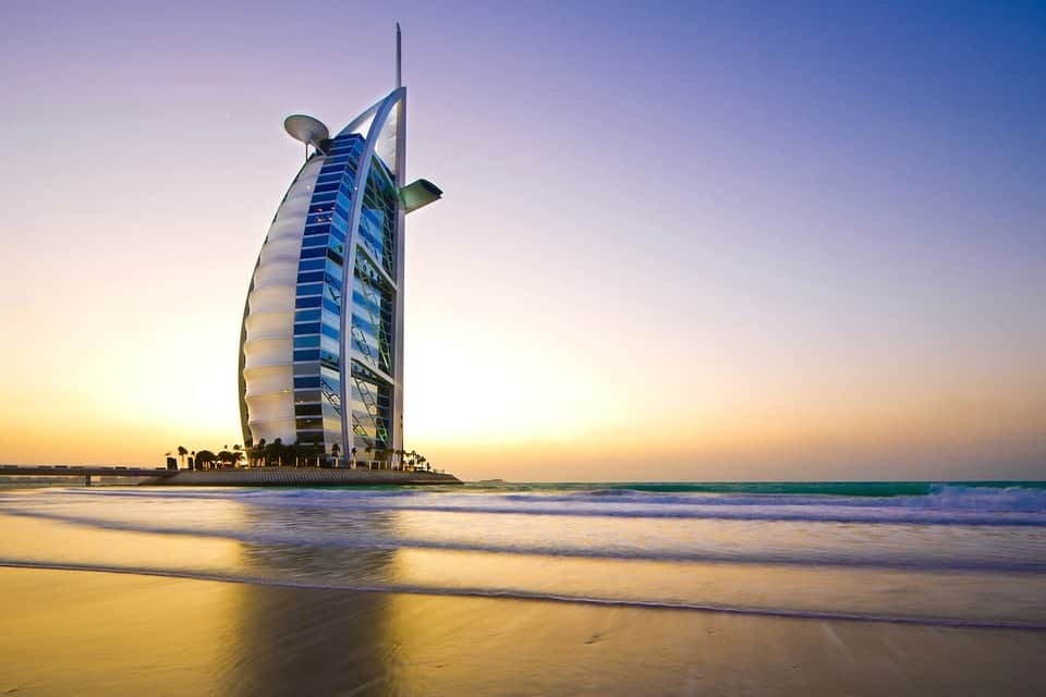 Burj al Arab Hotel, Dubai - Unique Hotels in the World