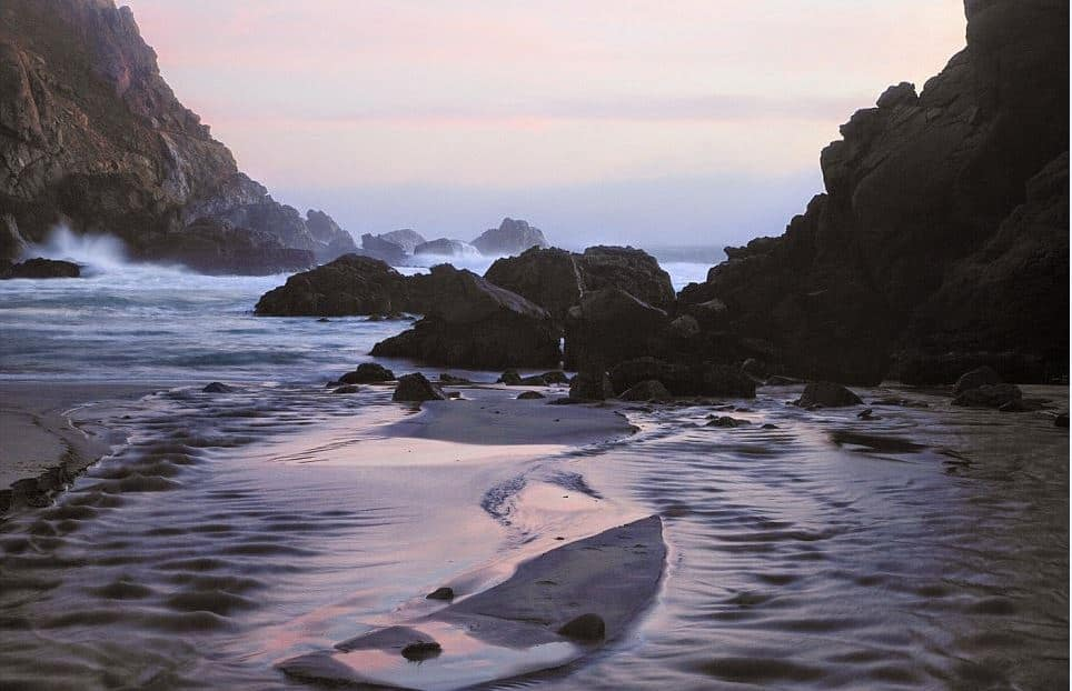 Pfeiffer Beach - Most Unique Beaches Around the World